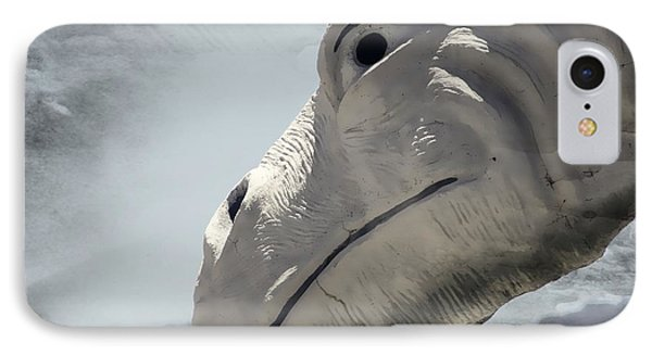 IPhone Case featuring the photograph Desert Dino by Carolina Liechtenstein