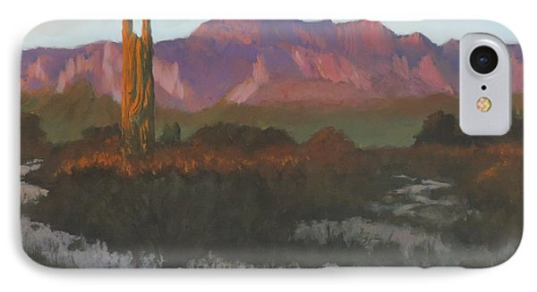 Desert Sunset Glow IPhone Case