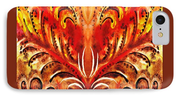 Desert Flower Abstract  IPhone Case