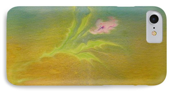 IPhone Case featuring the painting Desert Flower by Mike Breau