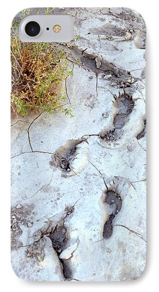 Desert Footprints IPhone Case