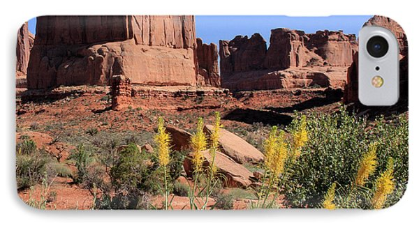 Desert Glory IPhone Case by Ann Van Breemen
