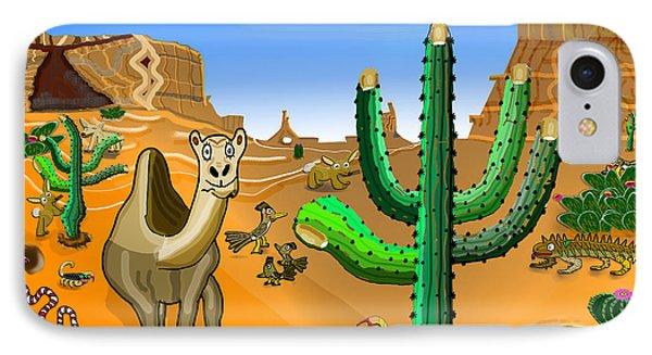 Desert Hands IPhone Case