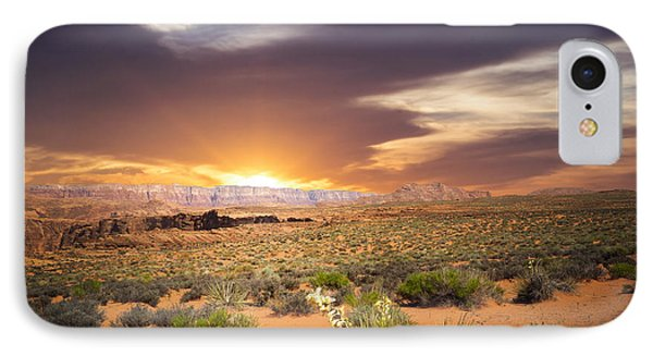 An Evening In The Desert IPhone Case by Aged Pixel