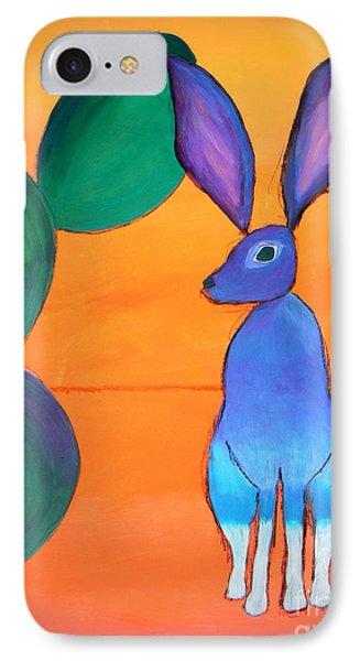 Desert Jackrabbit IPhone Case by Karyn Robinson