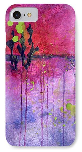 Desert Landscape Abstract Phone Case by Nancy Merkle