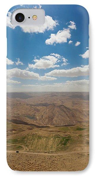 Desert Landscape By The Tannur Dam IPhone Case