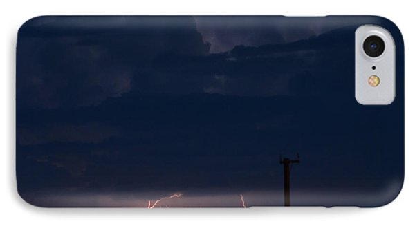 IPhone Case featuring the photograph Desert Monsoon by Carolina Liechtenstein