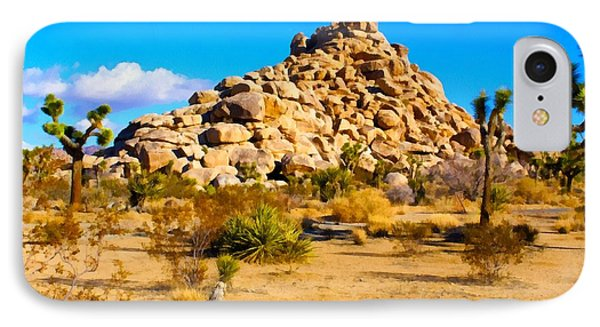 Desert Mound Watercolor IPhone Case by Barbara Snyder