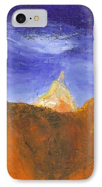 Desert Mountain Canyon IPhone Case