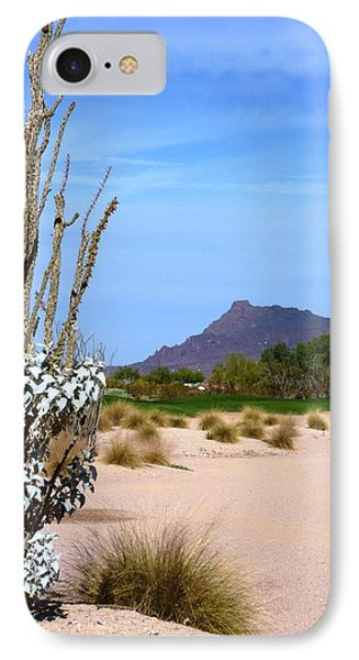 IPhone Case featuring the photograph Desert Mountain by Mike Ste Marie