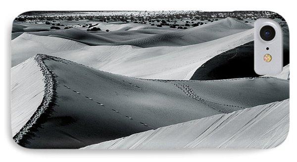 Desert Night Death Valley By Diana Sainz Phone Case by Diana Sainz