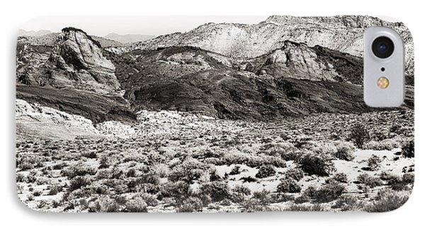 Desert Peaks Phone Case by John Rizzuto