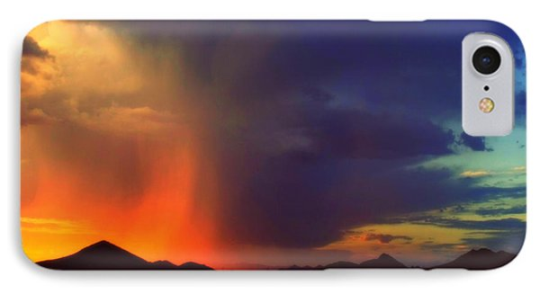 Desert Rain.. IPhone Case by Mistys DesertSerenity