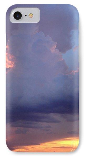Desert Rainstorm 5 Phone Case by Kerri Mortenson