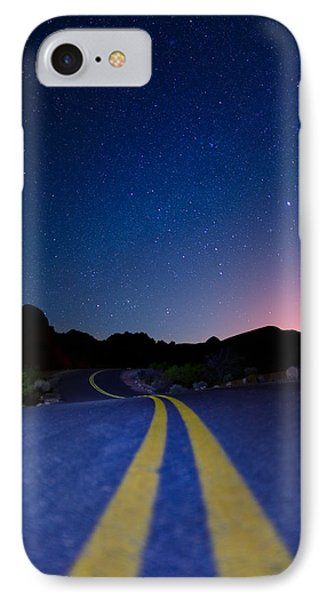 Desert Road IPhone Case by Rick Berk