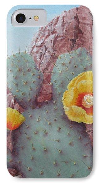 Desert Rose IPhone Case by Roseann Gilmore