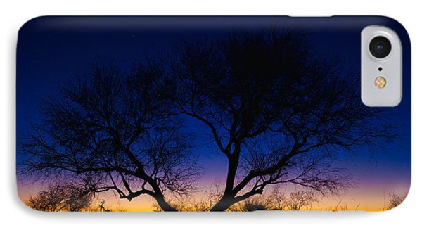 Desert Silhouette IPhone Case by Chad Dutson