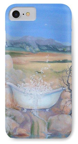 Desert Spa IPhone Case by Irene Corey