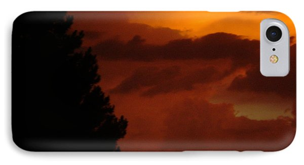 IPhone Case featuring the photograph Desert Storm by Carla Carson
