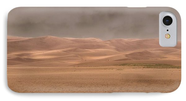 Great Sand Dunes Approaching Storm IPhone Case