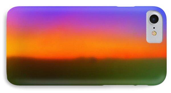 Desert Sun Abstract IPhone Case