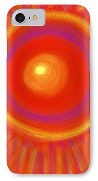 Desert Sunburst IPhone Case by Daina White