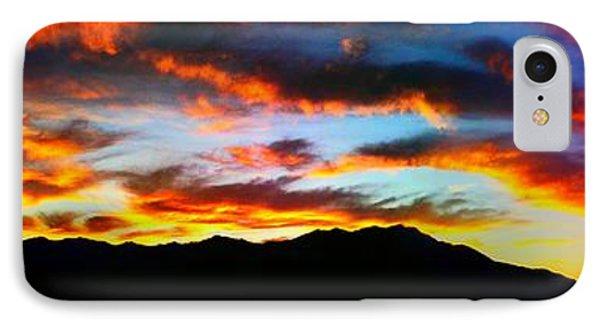 Desert Sunset 15 IPhone Case by Chris Tarpening