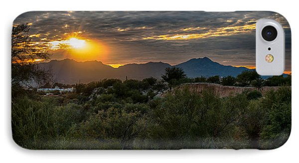 IPhone Case featuring the photograph Desert Sunset by Dan McManus
