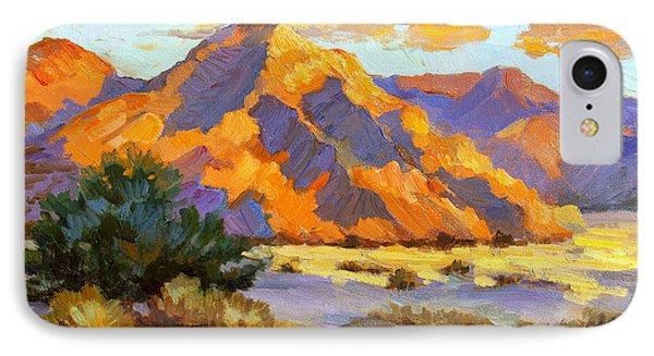 Desert Sunset iPhone 7 Case - Desert Sunset by Diane McClary