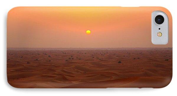 Desert Sunset IPhone Case by FireFlux Studios