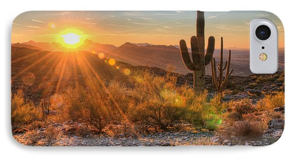 Desert Sunset II IPhone Case
