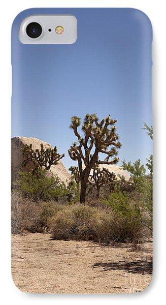 Desert Trees Phone Case by Amanda Barcon