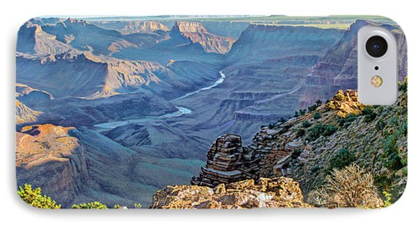 Desert View-morning IPhone 7 Case by Paul Krapf