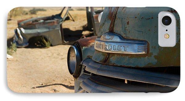 IPhone Case featuring the photograph Desert Wrecks  by Juergen Klust