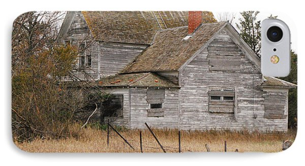Deserted House IPhone Case by Mary Carol Story