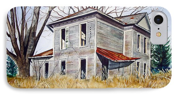 Deserted House  Phone Case by Rick Mock