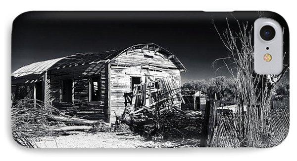 Deserted In The Desert  Phone Case by John Rizzuto