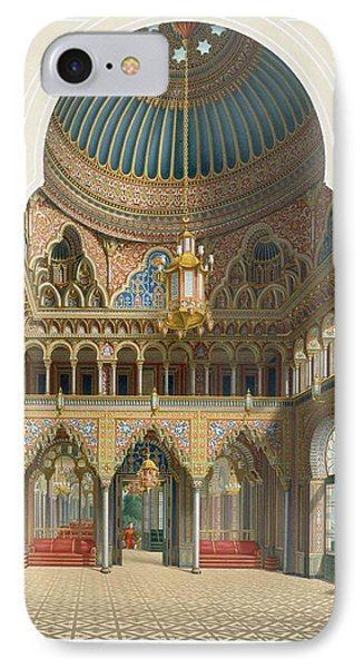 Design For The Entrance Hall IPhone Case by Karl Ludwig Wilhelm Zanth