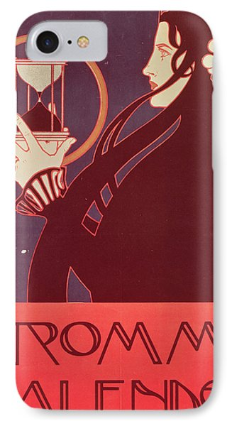 Design For The Frommes Calendar IPhone Case by Kolo