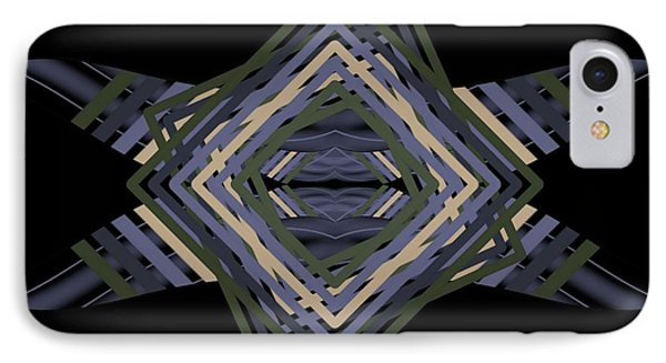 IPhone Case featuring the digital art Design Time Thinking by Brian Johnson