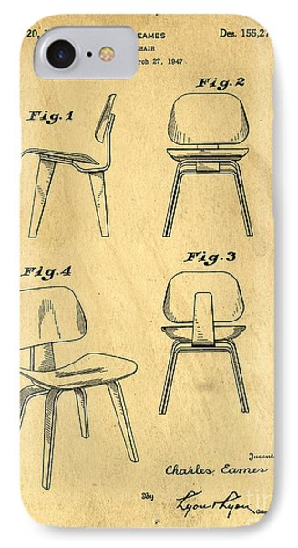 Designs For A Eames Chair Phone Case by Edward Fielding