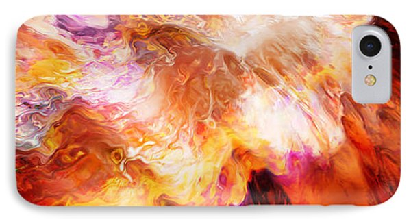 Desire - Abstract Art IPhone Case by Jaison Cianelli