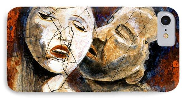 Desire - Study No. 2 Phone Case by Steve Bogdanoff