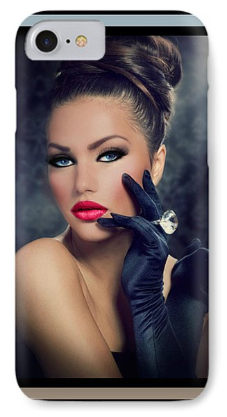 IPhone Case featuring the digital art Desired by Karen Showell