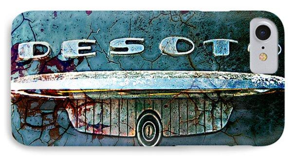 Desoto De-rust IPhone Case by Greg Sharpe