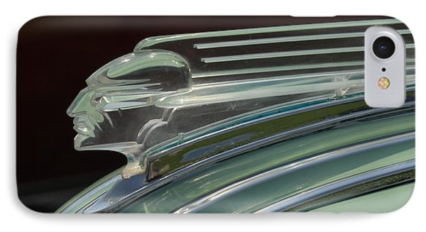 Desoto Hood Ornament  IPhone Case by Craig Perry-Ollila
