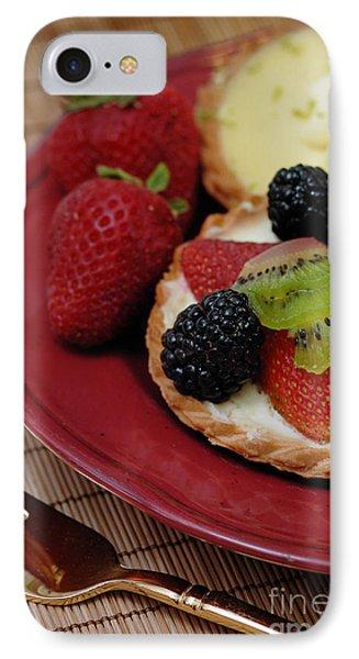 Dessert Tarts Phone Case by Amy Cicconi