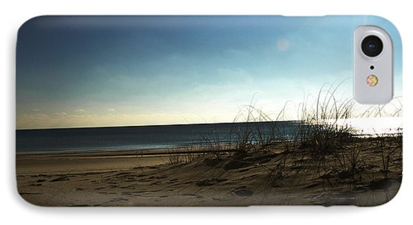 IPhone Case featuring the photograph Destin Beach Sun Glare by Donald Williams