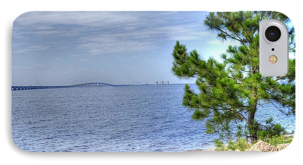 IPhone Case featuring the photograph Destin Midbay Bridge by Donald Williams